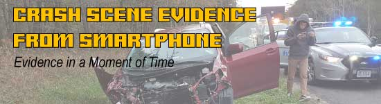 Crash Scene Evidence from Smartphone