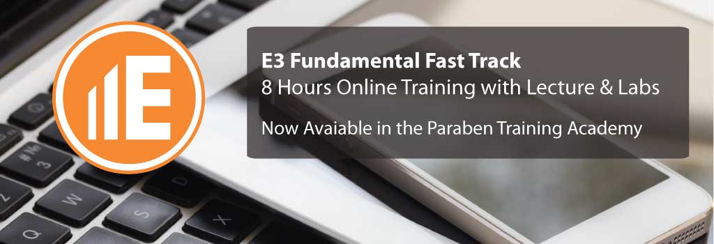 E3 Fundamental Fast Track Course Now Live