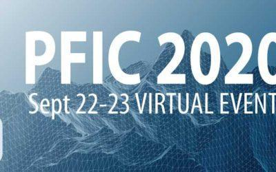 PFIC 2020 Now Virtual Sept 22-23 2020