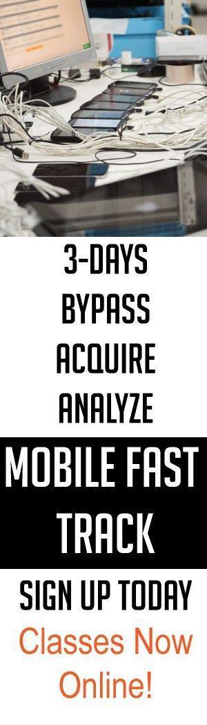 smartphone forensic training