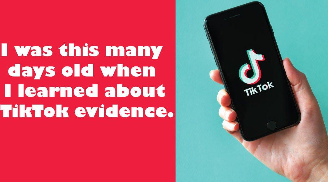 TikTok Smartphone Evidence